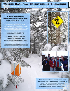 Download Snowshoe Orienteering Event Brochure